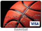 Basketball gift card
