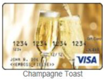 Champagne Toast gift card