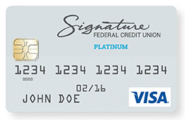 visa platinum credit card image - Visa Platinum Credit Card
