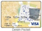 Denim Pocket gift card
