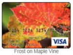 Frost on Maple Vine gift card