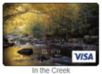 In the creek gift card