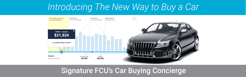 Introducing the new way to buy a car - Signature FCU's Car Buying Concierge